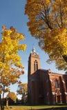 jesień miasteczko Obraz Royalty Free