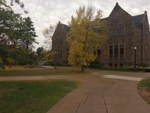 Jesień na kampusie Zdjęcia Royalty Free