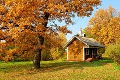Jesień na rolnym Muranovo Obraz Stock
