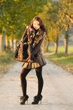 Jesień odziewa Zdjęcia Royalty Free