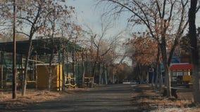 Jesień park rozrywki zbiory