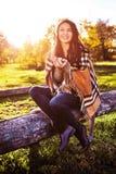 Jesień pinkin Zdjęcie Stock