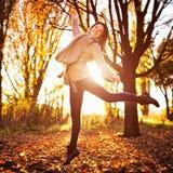 Jesień pinkin Obrazy Stock