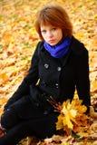 jesień portret Zdjęcie Stock