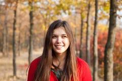 jesień portret Zdjęcie Royalty Free