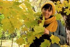 Jesień portret Obraz Stock