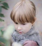 Jesień portret Obrazy Royalty Free