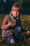 Jesień portret Zdjęcia Stock