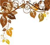 jesień projekt Obrazy Royalty Free