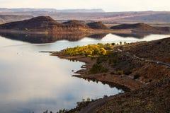 Jesień Pustynny jezioro Zdjęcie Royalty Free