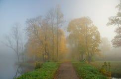 Jesień ranek Obrazy Royalty Free