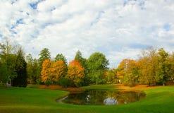 Jesień ranek Obraz Royalty Free
