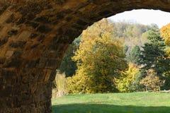 Jesień romantyczny widok obrazy stock