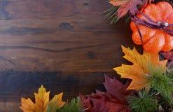 Jesień spadku tło Zdjęcie Stock