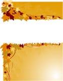 jesień sztandar Zdjęcie Royalty Free
