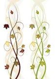 jesień sztandary Obraz Royalty Free