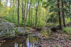 Jesień w Alleghenies Obrazy Royalty Free