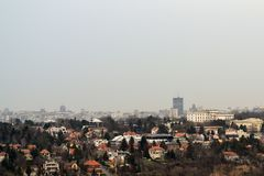 Jesień w Belgrade Fotografia Royalty Free