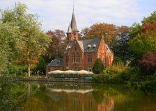Jesień w Bruges Zdjęcia Royalty Free