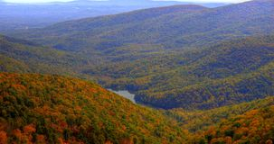 Jesień w dolinie Zdjęcie Royalty Free