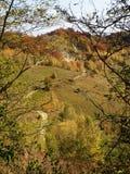 Jesień w górach obraz stock
