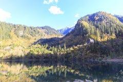 Jesień w jiuzhaigou, Chiny Fotografia Royalty Free