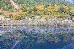 Jesień w jiuzhaigou, Chiny Zdjęcie Royalty Free