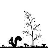 Jesień w lesie. Obrazy Stock