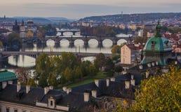 Jesień w Praga Fotografia Royalty Free