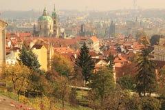 Jesień w Praga Obrazy Royalty Free
