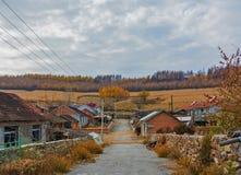 Jesień w rurze Zdjęcia Royalty Free