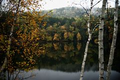 Jesień w Vermont Zdjęcia Royalty Free