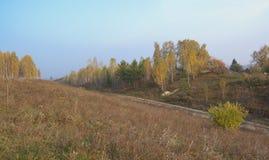 Jesień w wiosce Obrazy Stock