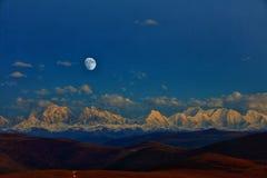 Jesień w zachodzie Sichuan zdjęcie stock