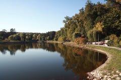 jesień wczesny hdr wizerunku krajobraz Obraz Royalty Free