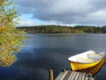 jesień widok s Zdjęcie Royalty Free