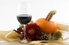 jesień wino Obrazy Royalty Free