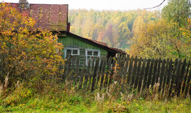 jesień wioska Zdjęcie Stock