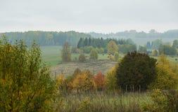 jesień wioska domowa stara chwiejne obraz royalty free
