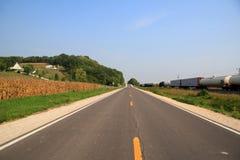 jesień wsi krajobraz Zdjęcie Stock