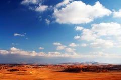 jesienią chmury Zdjęcia Royalty Free