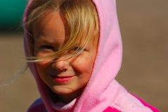 jesienią dziecko Obrazy Stock
