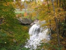 jesienią falls brandywine zdjęcie royalty free
