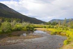 jesienią góry fotografia stock