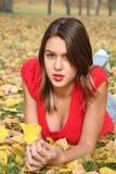 jesienią piękno Fotografia Stock