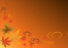jesienią tło royalty ilustracja