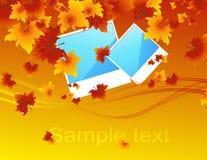 jesienią zdjęcia royalty ilustracja