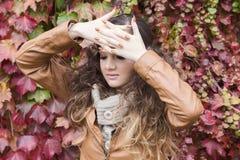 Jesieni bajki portret Zdjęcie Royalty Free