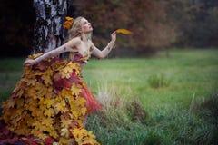Jesieni boginka Zdjęcie Stock