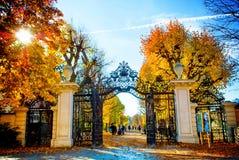 Jesieni brama Zdjęcia Stock